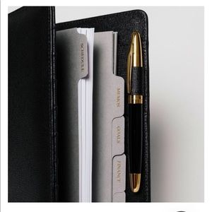 Cloth & Paper Smooth Leather Agenda Cover (A5)
